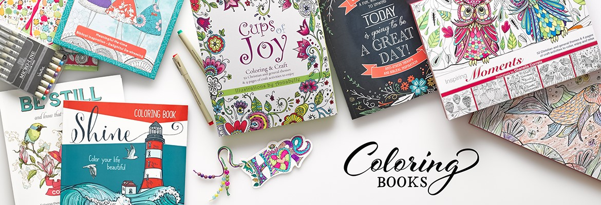 Coloring Books  Christian Art Gifts