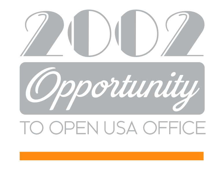 Opportunity to open a USA office - 2002