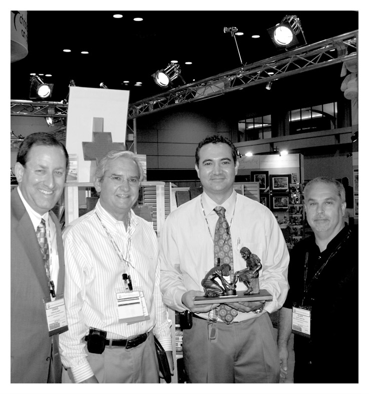 Christian Art Gifts is honored by Family Christian Stores as Partner of the year - 2009