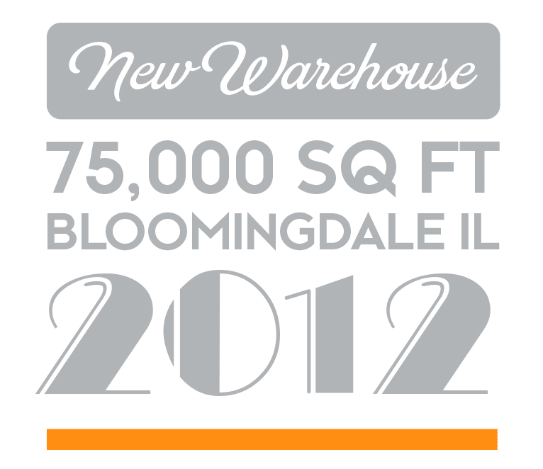 New warehouse, 75,000 SQ FT, Bloomingdale, IL - 2012