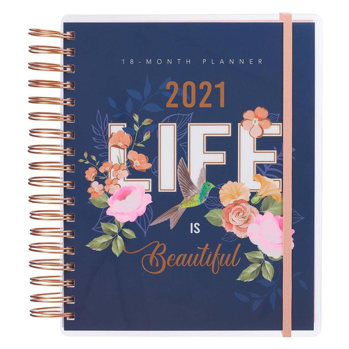 2021 Life is Beautiful 18 Month Planner For Women