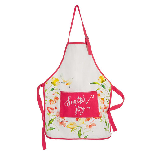 Scatter Joy Floral Cotton Apron