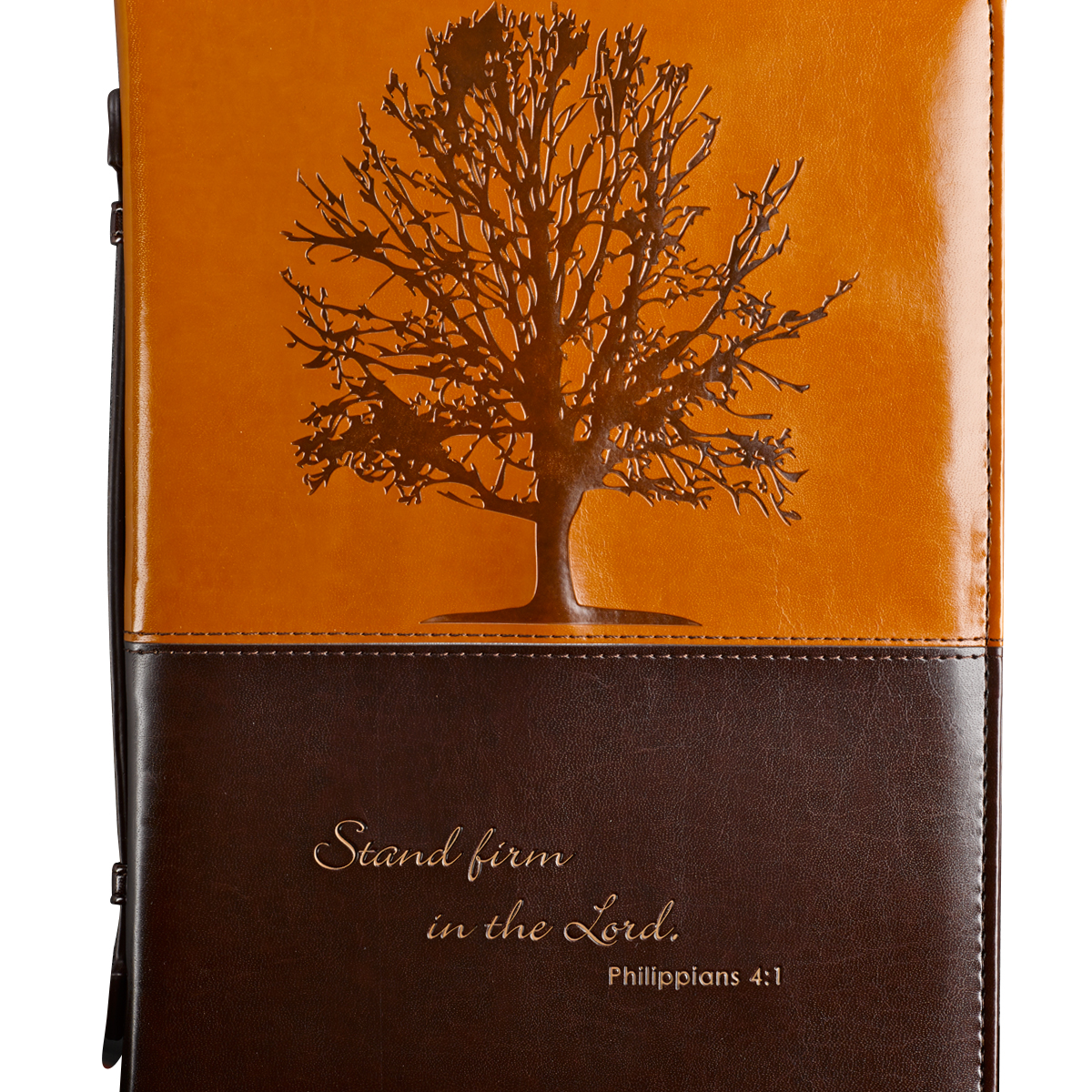 Stand-Firm-in-the-Lord-in-Brown-Philippians-4-1-Bible-Cover-Size-Large thumbnail 5