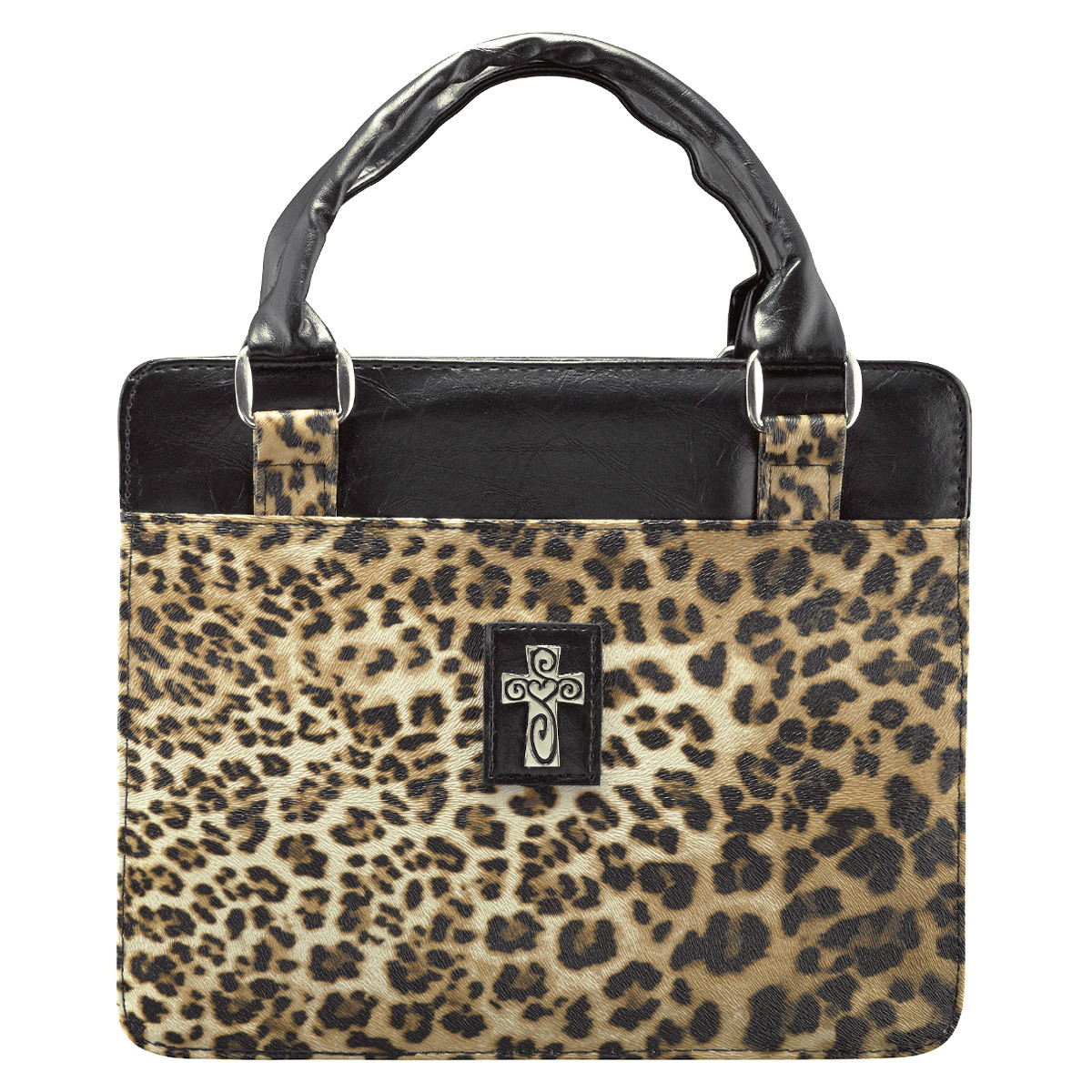 Bible Cover Safari Collection In Leopard Print