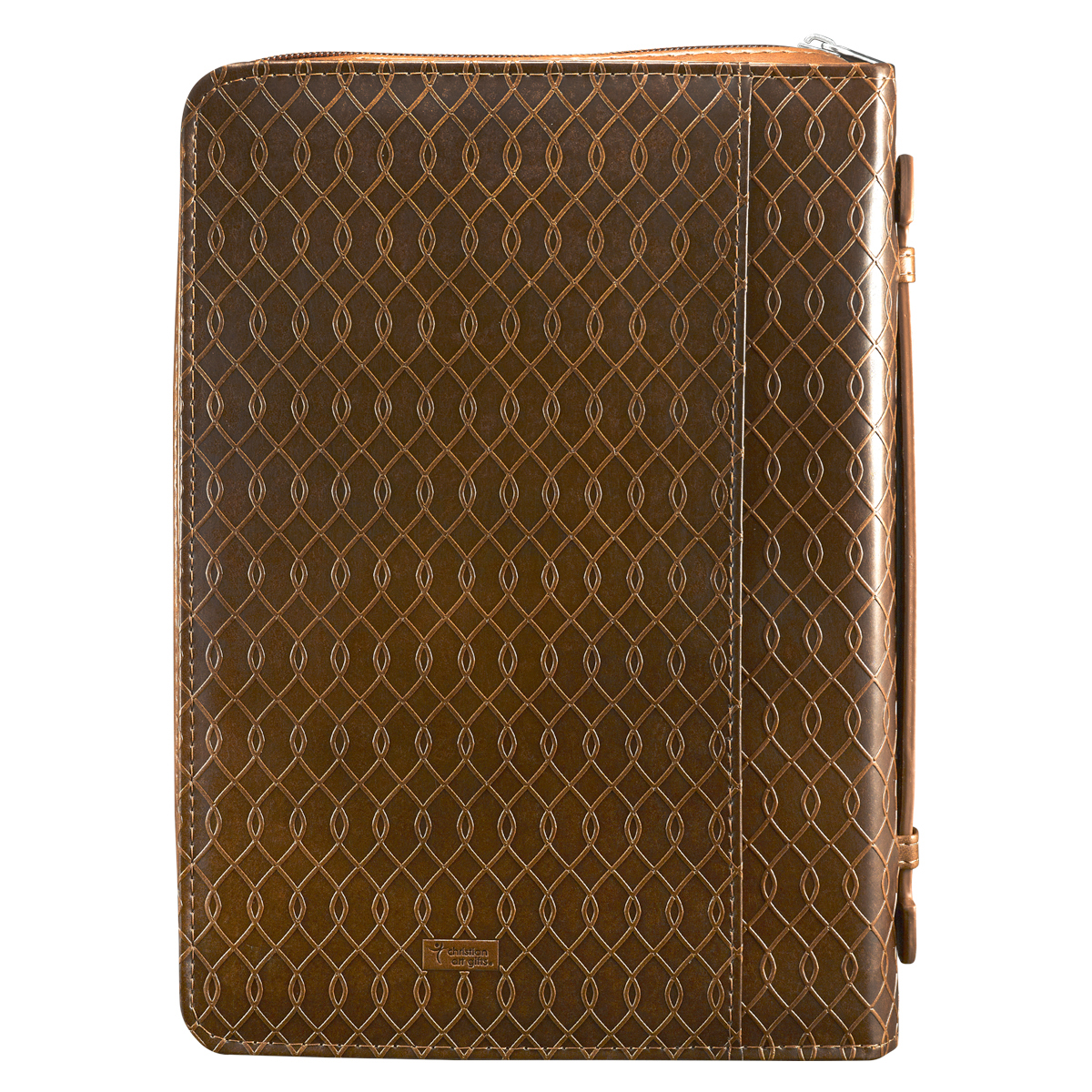 I-know-the-Plans-in-two-tone-Brown-Jeremiah-29-11-Bible-Cover-Size-Medium thumbnail 2