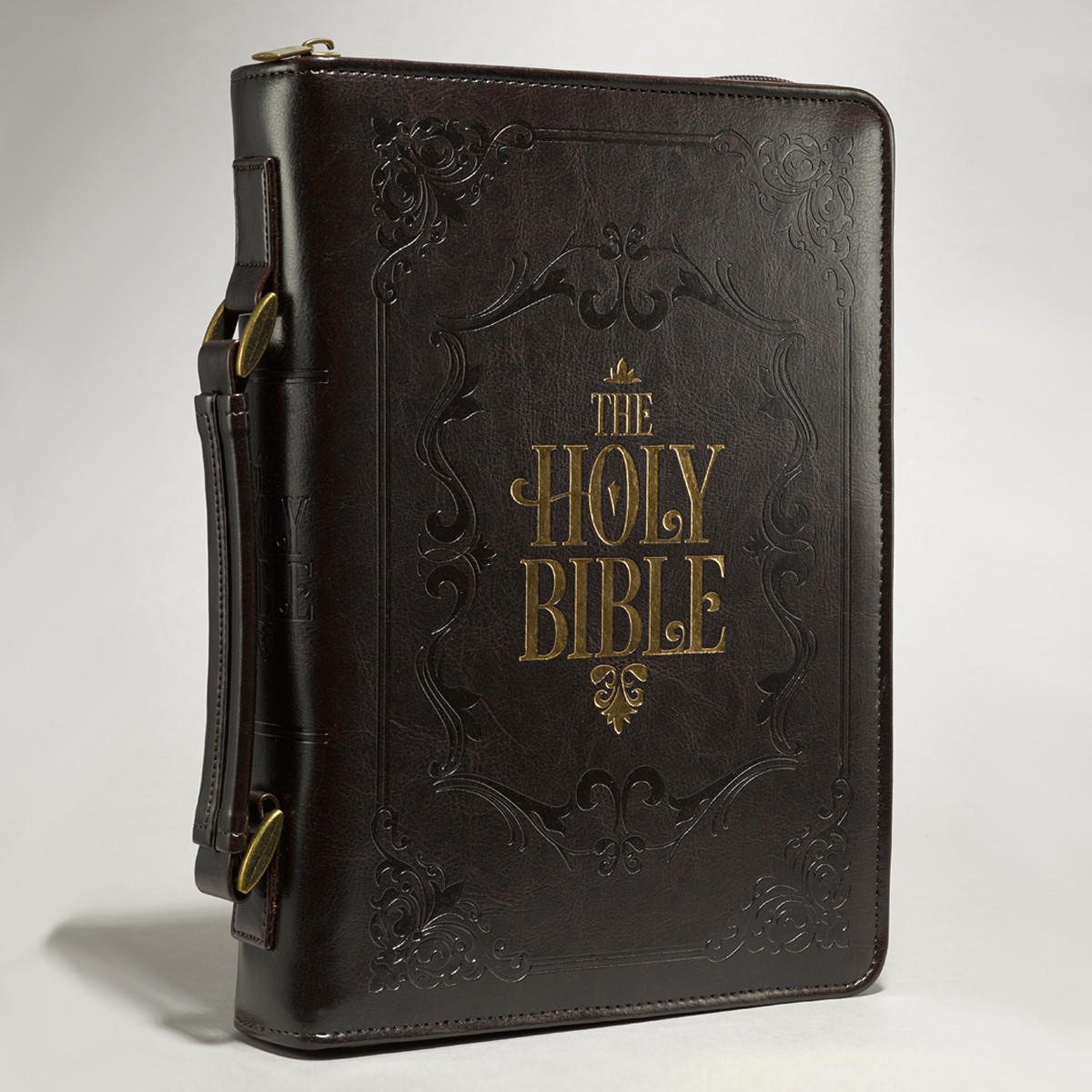 The Holy Bible In Brown Bible Cover