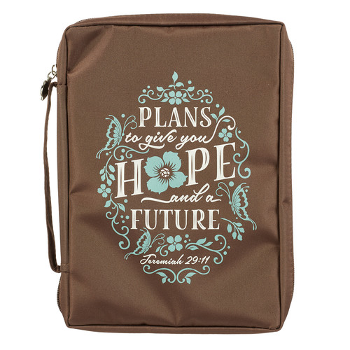 Hope and a Future Jeremiah 29:11 Bible Cover