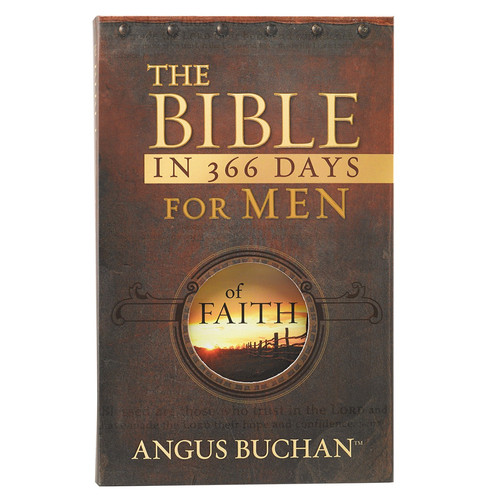 The Bible in 366 Days for Men Softcover Devotional