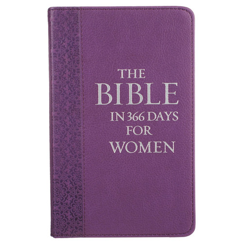 The Bible in 366 Days for Women Faux Leather Devotional