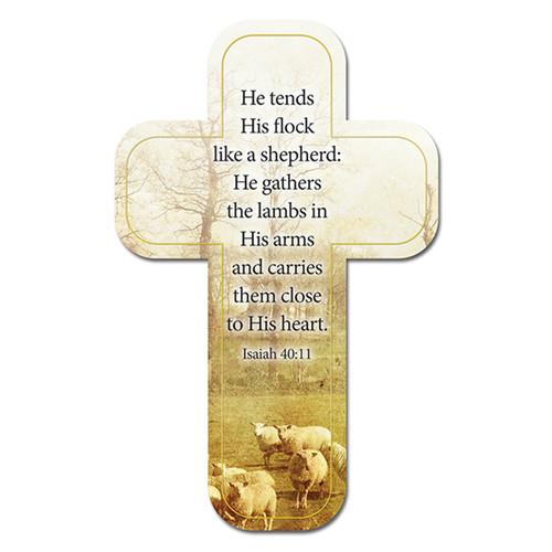 The Shepherd Paper Cross Bookmark