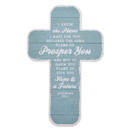 I Know the Plans Cross Bookmark Set - Jeremiah 29:11