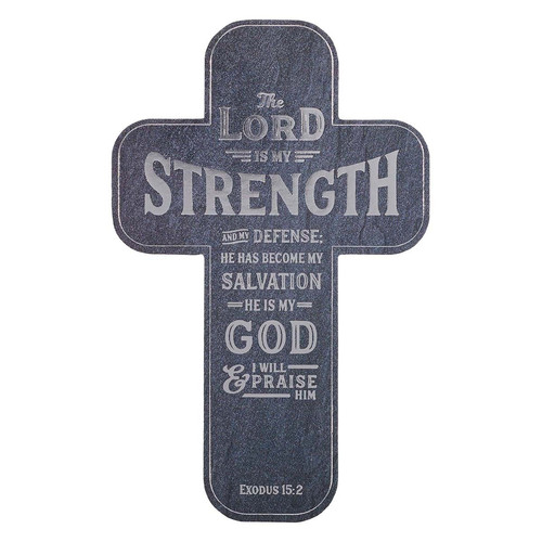 The Lord is My Strength Cross Bookmark Set - Exodus 15:2