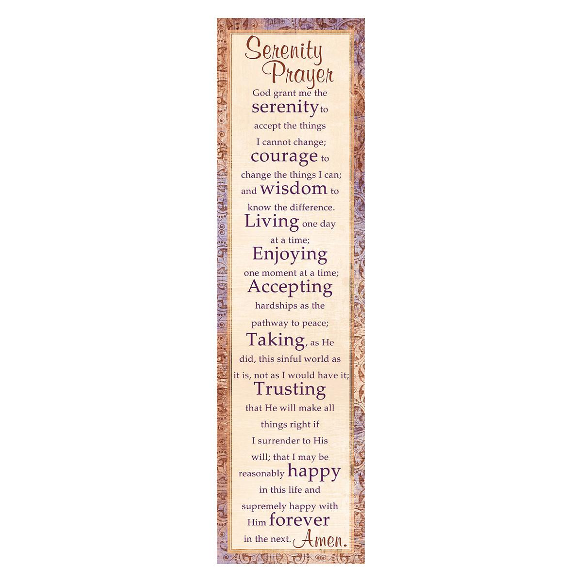 Serenity Prayer Bookmarks