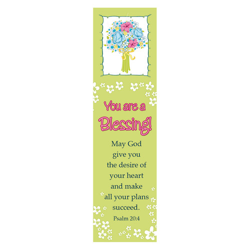You are a Blessing (Lime) Bookmarks
