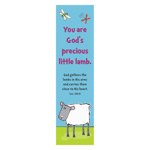 Precious Lamb Teacher Bookmarks