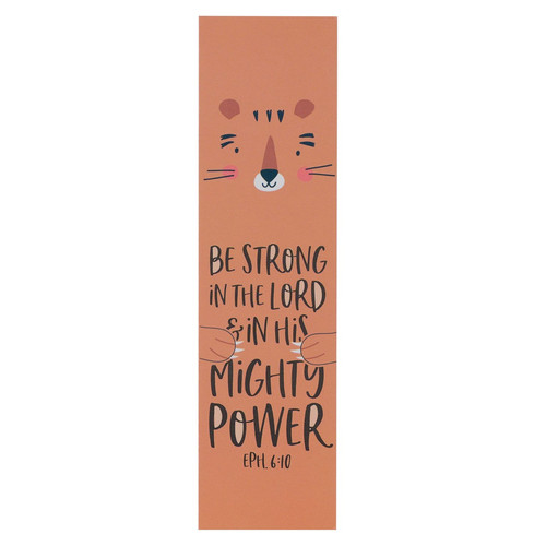 Be Strong in the LORD Sunday School/Teacher Bookmark Set - Ephesians 6:10
