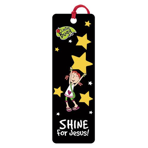 Shine for Jesus! Laedee Bugg 3D Bookmark