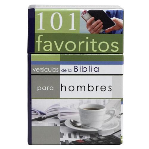 101 Versículos favoritos para hombres