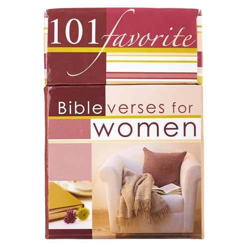 101 Favorite Bible Verses for 101 Favorite Bible Verses for Women Box of Blessings