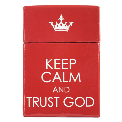 Keep Calm & Trust God Box of Blessings