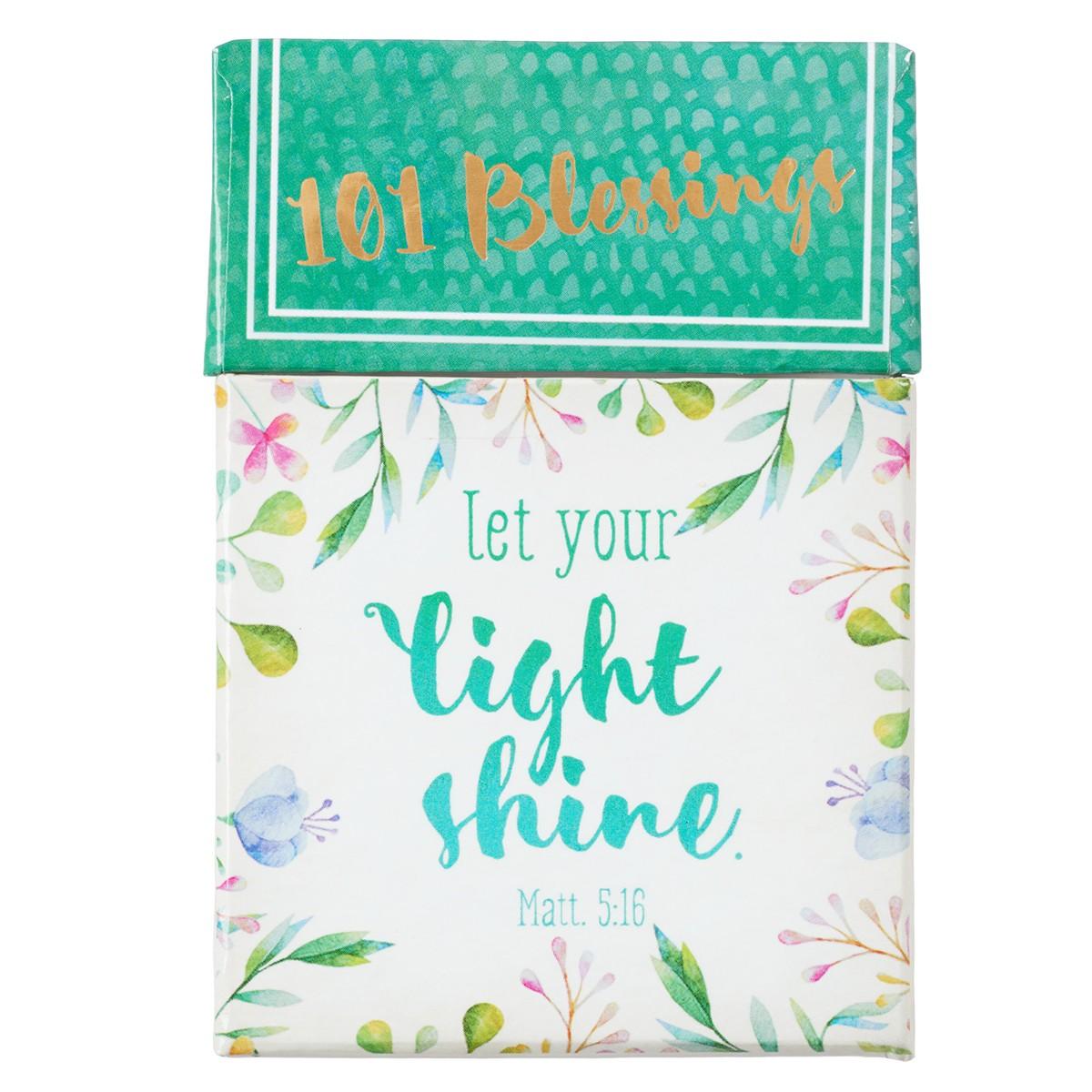 Wood Boxes With Sayings Let Your Light Shine  \u2013 Bible Verse Box \u2013 Decorative Storage Box