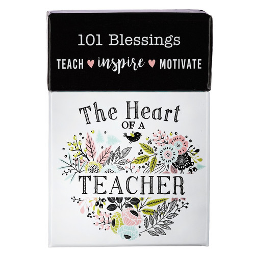 The Heart of a Teacher Box of Blessings