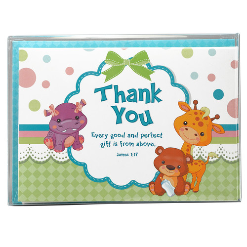 Lulla Bible Thank You Cards - James 1:17