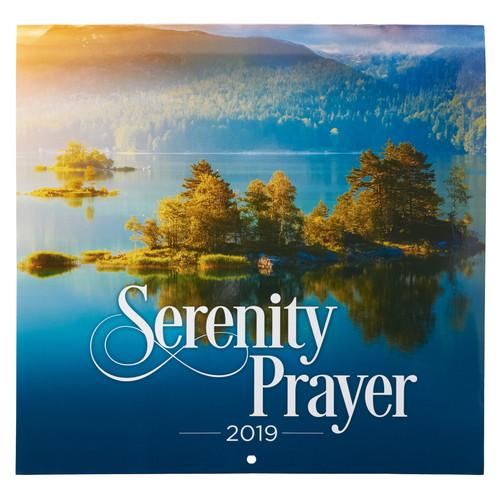 Serenity Prayer 2019 Large Wall Calendar