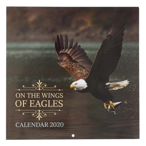 On The Wings Of Eagles 2021 Large Wall Calendar - Isaiah 40:31