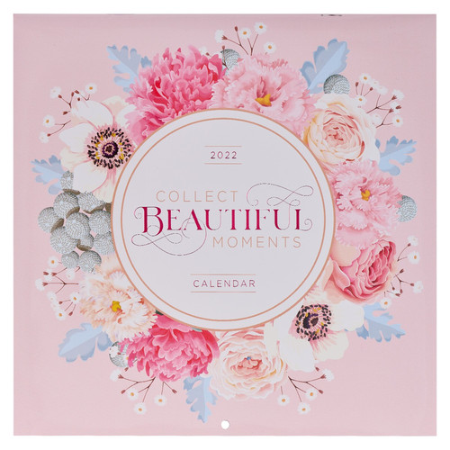 2022 Collect Beautiful Moments Large Wall Calendar