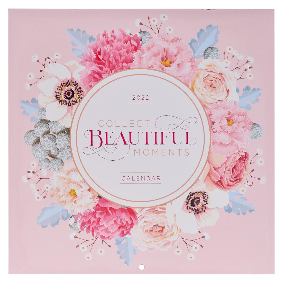Large Wall Calendar 2022.2022 Collect Beautiful Moments Large Wall Calendar