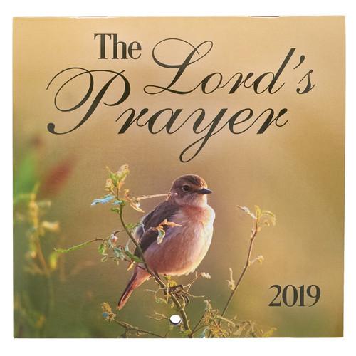 The Lord's Prayer - Matthew 6:9-13 2019 Small Wall Calendar