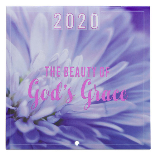 The Beauty of Gods Grace Small Wall Calendar 2020