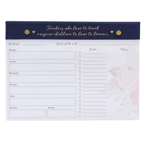 Best Teacher Ever Planner Pad
