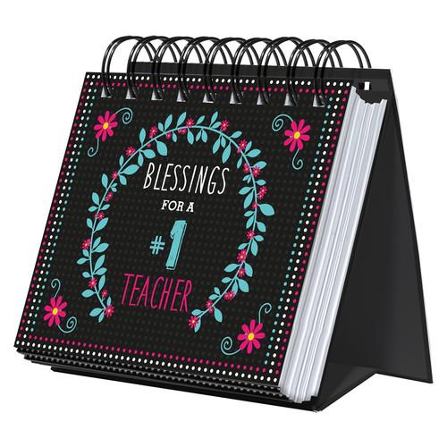 Blessings for a #1 Teacher Perpetual Calendar