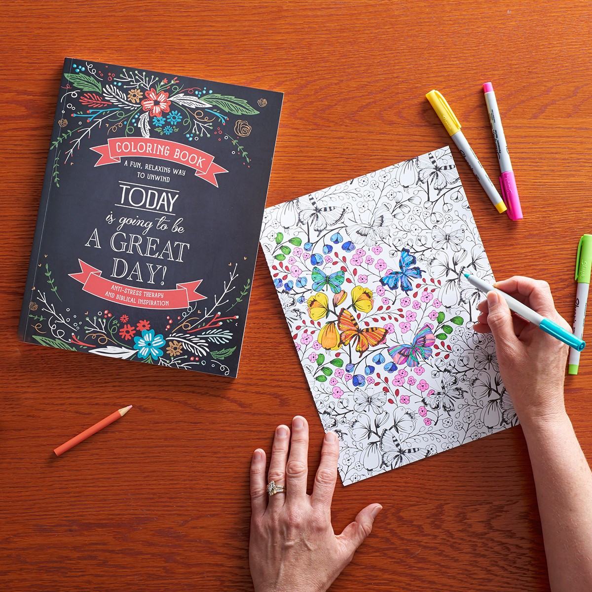 Today Is Going To Be A Great Day Coloring Book