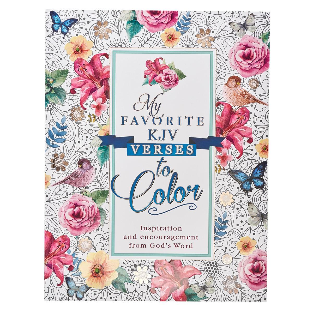 - My Favorite KJV Verses To Color Coloring Book.