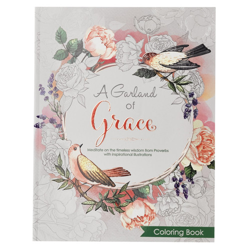 A Garland of Grace - Proverbs Coloring Book