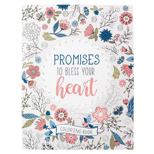 Promises to Bless Your Heart Coloring Book