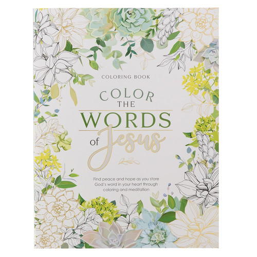Color the Words of Jesus Coloring Book
