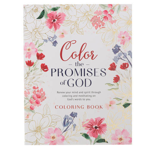 Color the Promises of God Coloring Book