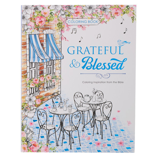 Grateful & Blessed Coloring Book