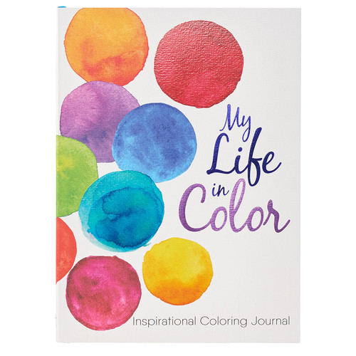My Life in Color: Prompted Coloring Journal with Designated Scripture Verses