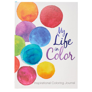 My Life in Color: Inspirational Coloring Journal
