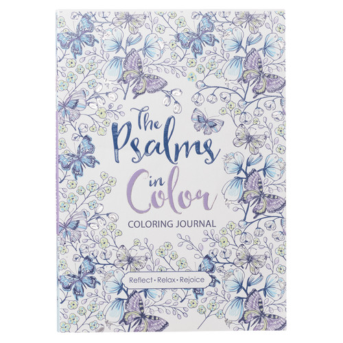 The Psalms in Color Coloring Journal