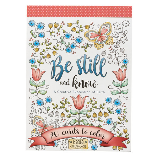 Be Still and Know Coloring Cards