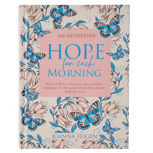 Hope For Each Morning Hardcover Devotional