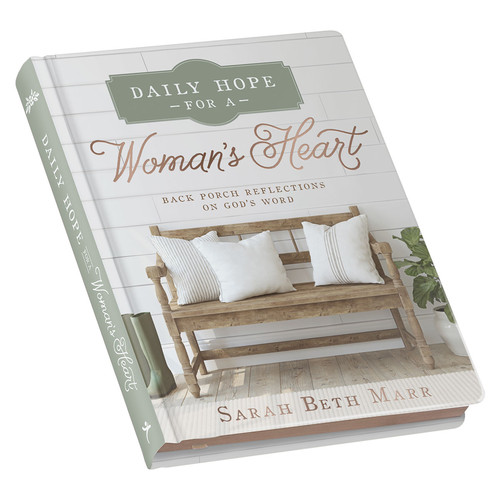 Daily Hope for a Womans Heart Hardcover Edition