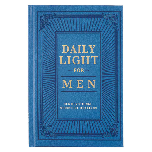 Daily Light for Men Blue Hardcover Devotional