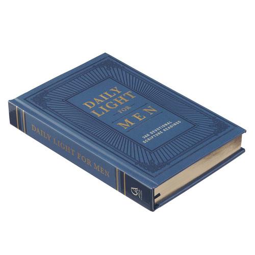 Daily Light for Men Blue Hardcover Devotional